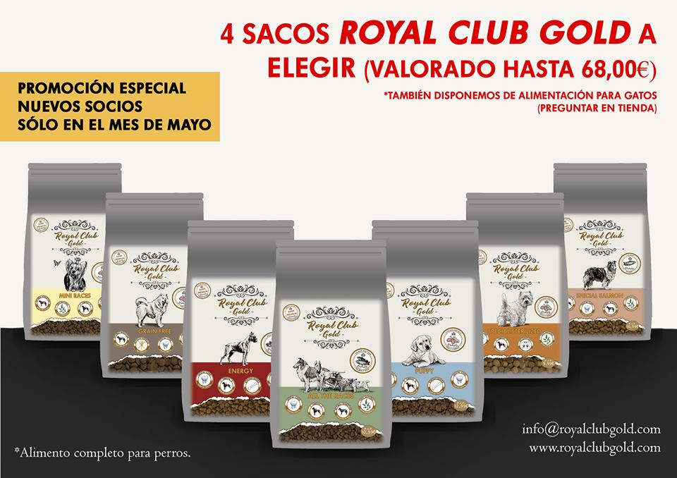 Promoción Royal Club Gold